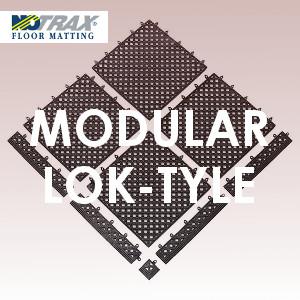 Modular Lok-Tyle folyadékelvezető, rácsszerkezetű, moduláris szőnyeg / padozat