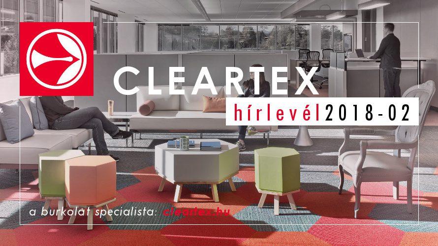 Cleartex Hírlevél 2018 02