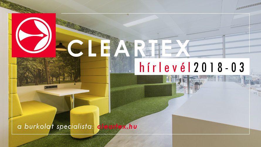 Cleartex Hírlevél 2018 03