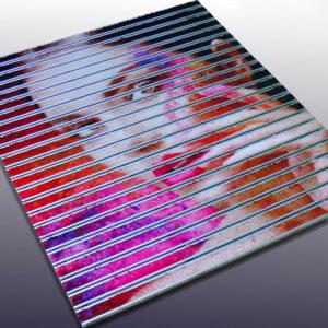 Cleartex Alutrend Maxi Charm alusínes szennyfogó egyedi nyomtatású Colorstar textillel