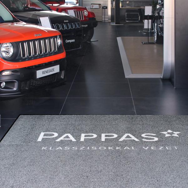Cleartex Pappas Jeep 2018 Logo Brush egyedi szennyfogó