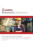 Cleartex Karbantartási Program 2018