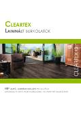 Cleartex Laminált burkolatok