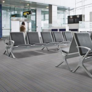 Flotex Pinstripe moduláris padlószőnyeg