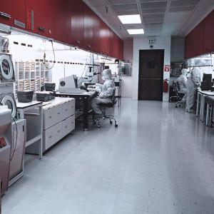 Sticky Mat felhasználási terület: ipari labor környezet