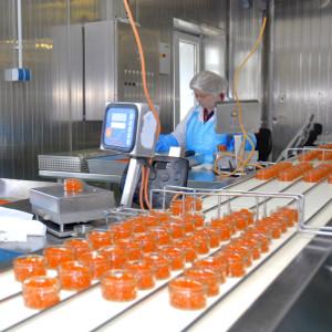Sani-Trax alkalamazási terület: élelmiszer feldolgozó és csomagoló