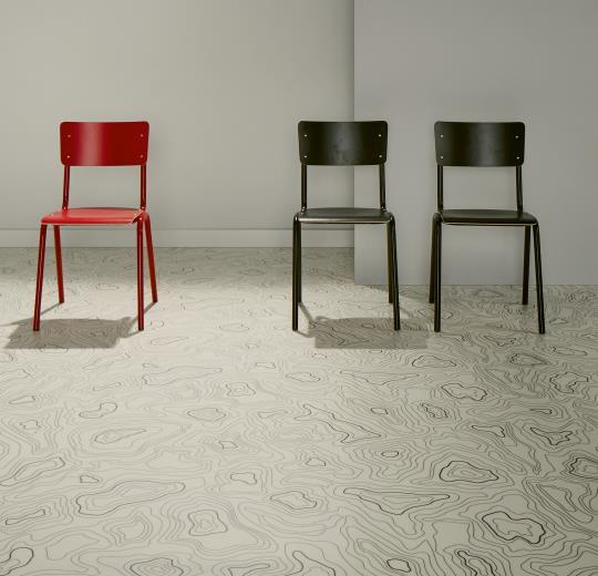 Sarlon Acoustic Topography 433910 white installáció