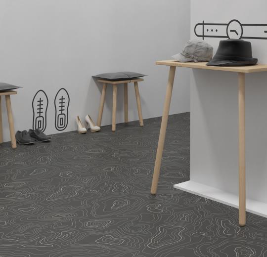 Sarlon Acoustic Topography 433919 grey installáció