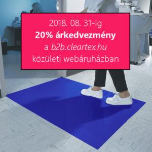 Sticky Mat higiéniai film szőnyeg 20% kedvezménnyel