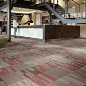Flotex Cirrus moduláris, flokkolt padlószőnyeg