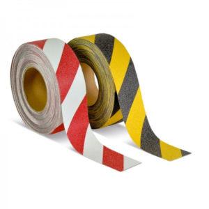 ClearSafe R13 figyelmeztető szalag - fehér-piros és fekete-sárga