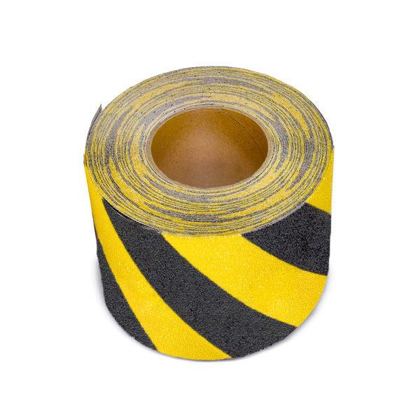 ClearSafe R13 figyelmeztető szalag - fekete-sárga
