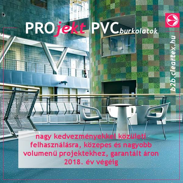 PROjekt PVC burkolatok max. 35% - 25% kedvezménnyel