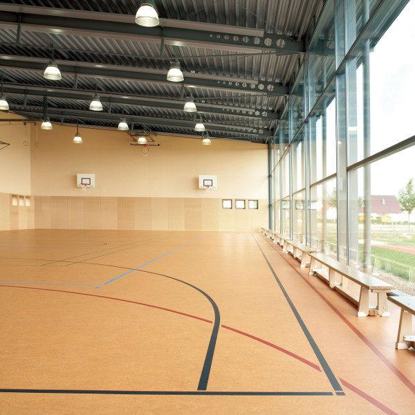 Marmoleum Sport linóleum padlóburkolat sport- és rendezvény felhasználásra